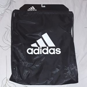 Adidas tournament 3 sackpack black white logo